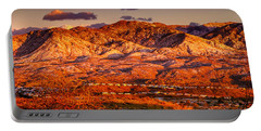 Red Planet Portable Battery Charger by Mark Myhaver