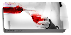Red Red Wine Portable Battery Charger