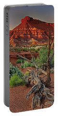Portable Battery Charger featuring the photograph Red Rock Butte And Juniper Snag Paria Canyon Utah by Dave Welling