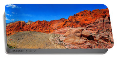 Red Rock Canyon Portable Battery Charger by Mariola Bitner