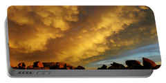 Portable Battery Charger featuring the photograph Red Rock Coulee Sunset by Vivian Christopher