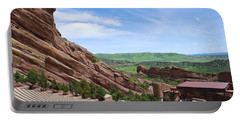 Red Rocks Portable Battery Charger by Charlie and Norma Brock