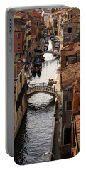 Red Roofs Of Venice Portable Battery Charger