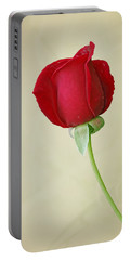One Red Rose  Portable Battery Charger