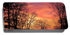 Red Sky At Night Sailor's Delight Portable Battery Charger