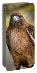 Portable Battery Charger featuring the photograph Eyes Of The Raptor by David Millenheft