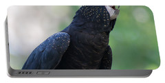 Red-tailed Black Cockatoo Portable Battery Charger