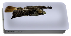Red-tailed Hawk In Flight 2 Portable Battery Charger