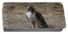 Portable Battery Charger featuring the photograph Red Tailed Hawk by Neal Eslinger