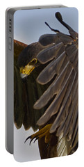 Portable Battery Charger featuring the photograph Red-tailed Tallons by J L Woody Wooden