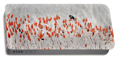 Red-winged Blackbird Portable Battery Charger