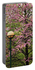 Redbud And Lamp Portable Battery Charger