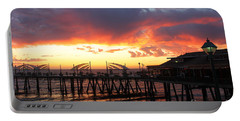 Redondo Pier Sunset Portable Battery Charger