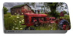 Reds In The Pasture Portable Battery Charger
