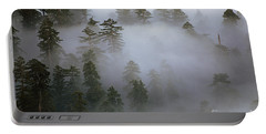 Redwood Creek Overlook With Giant Redwoods  Portable Battery Charger