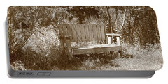 Reflecting Bench Portable Battery Charger