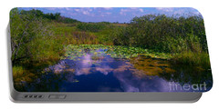 Reflecting In The Glades Portable Battery Charger