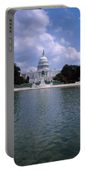 Reflecting Pool With A Government Portable Battery Charger by Panoramic Images