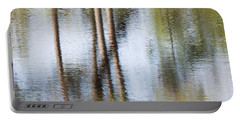 Reflection Abstract Portable Battery Charger