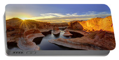 Reflection Canyon Sunrise Portable Battery Charger