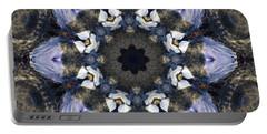 Reflection  Kaleidoscope Portable Battery Charger by Jordan Blackstone