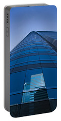 Reflection Of Buildings On A Stock Portable Battery Charger by Panoramic Images