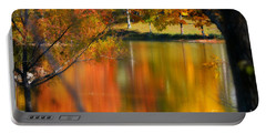 Reflection  Of My Thoughts  Autumn  Reflections Portable Battery Charger