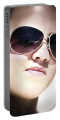 Portable Battery Charger featuring the photograph Reflection by Pennie  McCracken