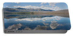 Reflections At Glacier National Park Portable Battery Charger by John M Bailey