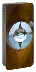Reflections In A Glass Ball Portable Battery Charger