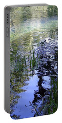 Portable Battery Charger featuring the photograph Reflections  by Mary Wolf