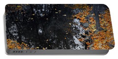 Reflections Of Autumn Portable Battery Charger by Photographic Arts And Design Studio