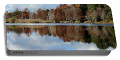 Reflections Of Color Portable Battery Charger by Debra Forand