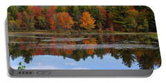 Reflections Of Fall Portable Battery Charger by Kerri Mortenson