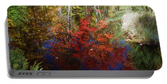 Portable Battery Charger featuring the photograph Reflections On Algonquin by David Porteus