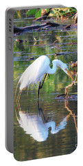 Reflections On Wildwood Lake Portable Battery Charger