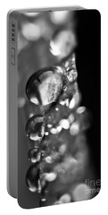 Reflective Rain Portable Battery Charger by Cheryl Baxter