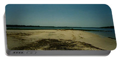 Rehoboth Bay Beach Portable Battery Charger by Amazing Photographs AKA Christian Wilson