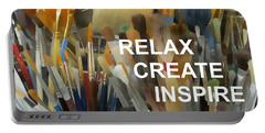Relax Create Inspire Portable Battery Charger