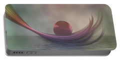 Portable Battery Charger featuring the digital art Relax by Gabiw Art
