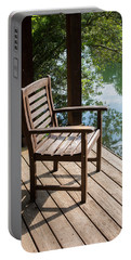 Alone By The Lake Portable Battery Charger