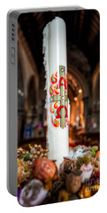 Religious Candle Portable Battery Charger