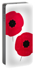 Remembrance Day Poppies Portable Battery Charger