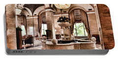 Portable Battery Charger featuring the photograph Renaissance Cleveland Hotel - 1 by Mark Madere