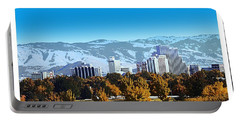 Reno Skyline From Rancho San Rafael Portable Battery Charger