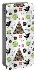 Repeat Print - Wild Night Portable Battery Charger