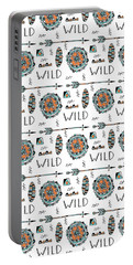 Repeat Print - Wild Portable Battery Charger