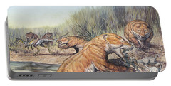 Repenomamus Mammals Hunting For Prey Portable Battery Charger