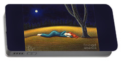 Rest For A Weary Heart Portable Battery Charger by Danielle R T Haney