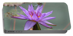 Resting Time Portable Battery Charger by Karen Silvestri